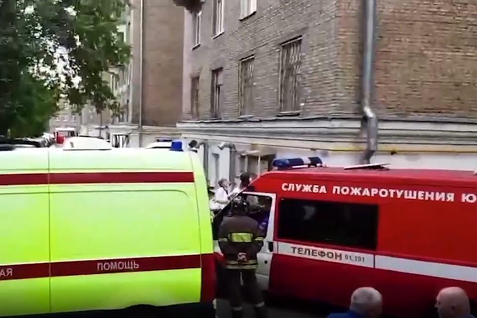 Никто не пострадал - более 80 жильцов вовремя эвакуировали