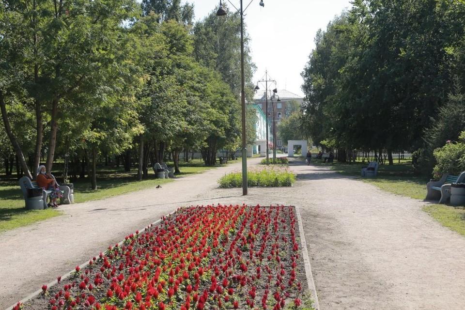 Скоро сквер Гагарина преобразится. Фото: предоставлено мэрией Новосибирска.