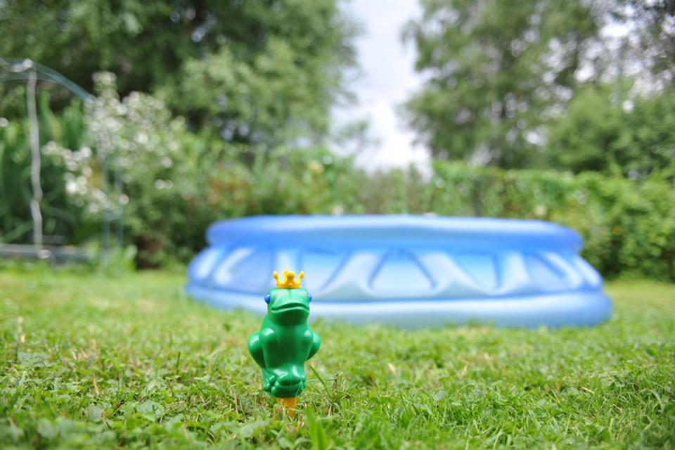 «Залезла в воду, пока мама косила траву»: полуторагодовалая девочка утонула в бассейне под Богородском