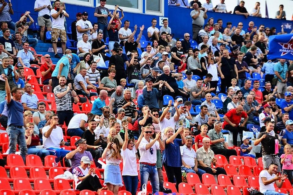 «СКА-Хабаровску» могут разрешить проводить домашние матчи со зрителями