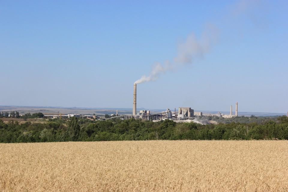В 1896 году в городе был основан первый цементный завод – тогда он получил название «Донецкий»