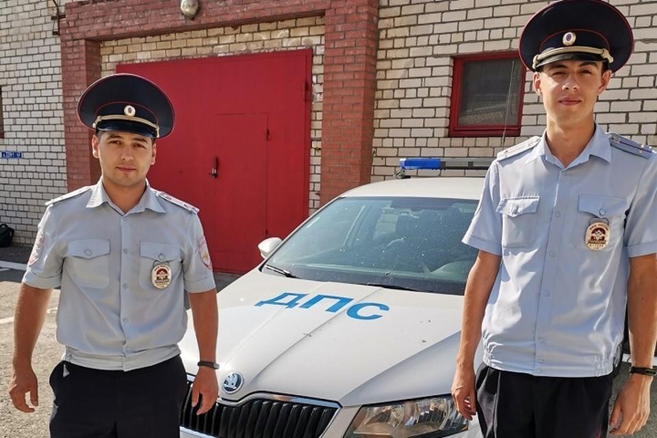 Отличившиеся полицейские обещают и дальше добросовестно нести службу