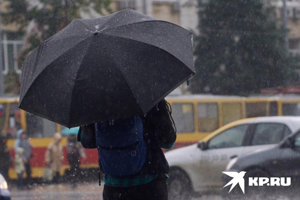 Соблюдайте правила поведения во время дождя.
