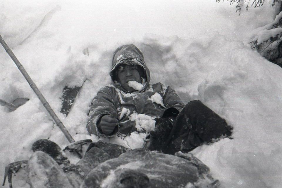 За 18 дней группа должна была пройти на лыжах 300 километров по северу Свердловской области с восхождением на две вершины. Фото: из архива фонда памяти группы Дятлова.