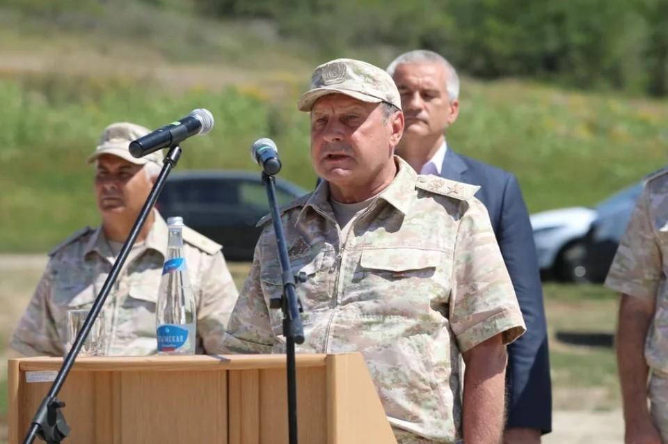 10 августа состоялось торжественное открытие водовода Белогорск - Симферополь. Фото: отдел информационного обеспечения Черноморского флота