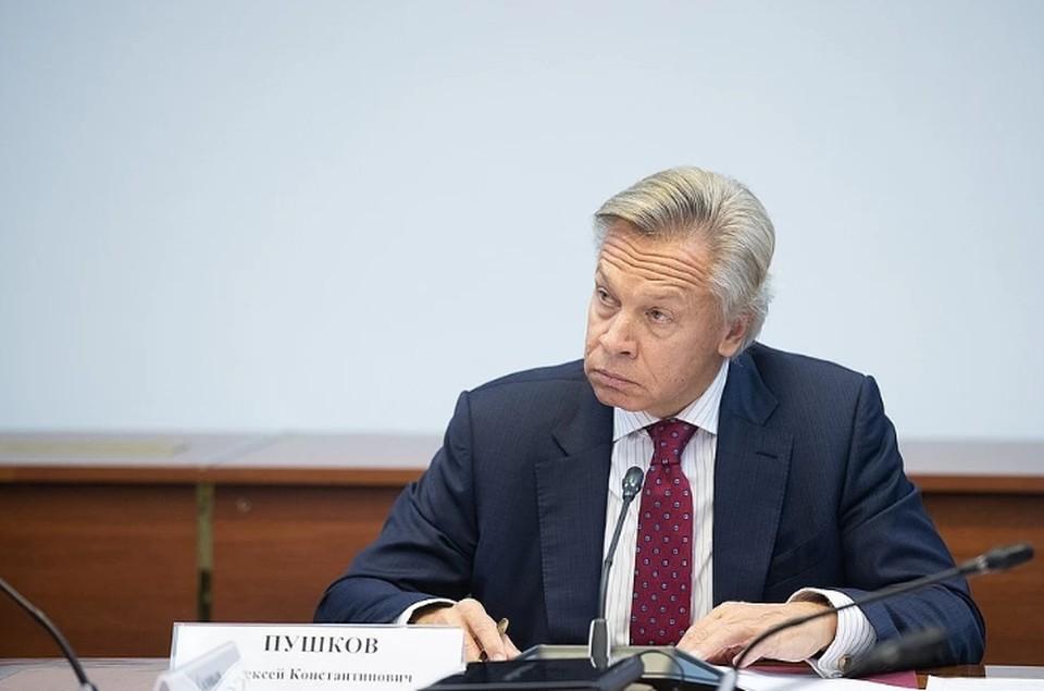 Пушков рассказал о причине борьбы Германии и США за «Северный поток-2»