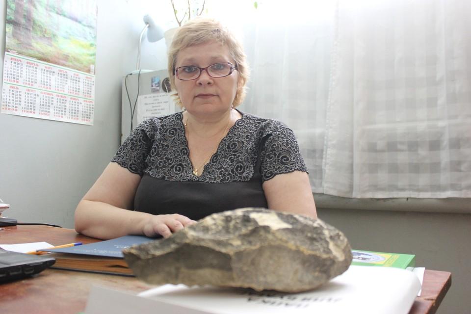 Заведующая музеем Виктория Рослякова