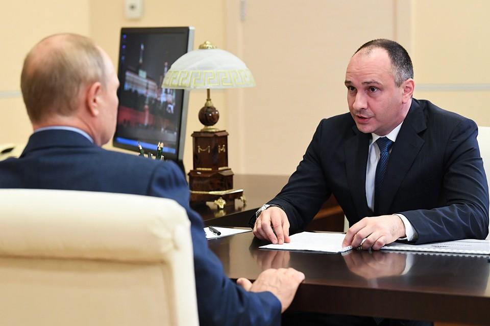 Докладывая о работе компании, Ковальчук рассказал о новых проектах. Фото: Алексей Никольский/ТАСС