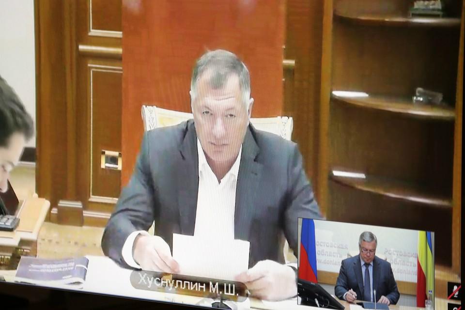В Ростове поручили ускорить строительство кольцевой дороги вокруг Ростова. Фото: правительство РО
