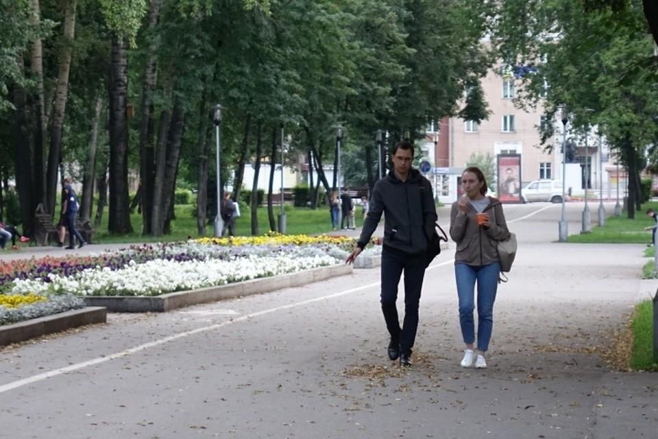 На смену жаре в Кузбасс идут дожди и ветер