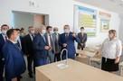 В Воронежской области построили большую школу с легкоатлетическим сектором