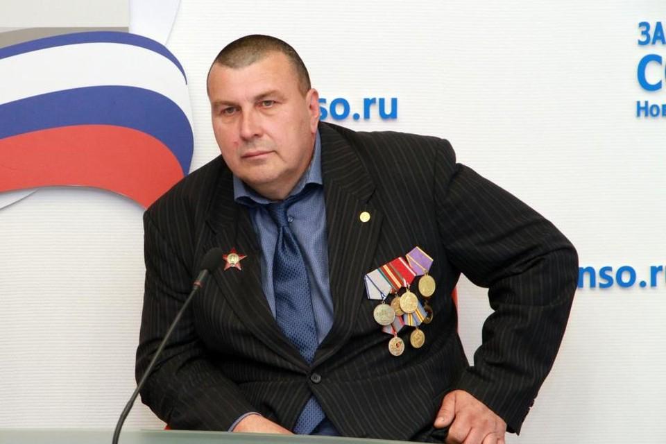 Игорь Тихоненко. Фото: предоставлено Законодательным собранием Новосибирской области.