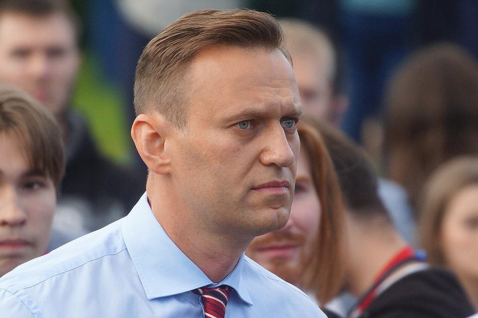 Политик Алексей Навальный.