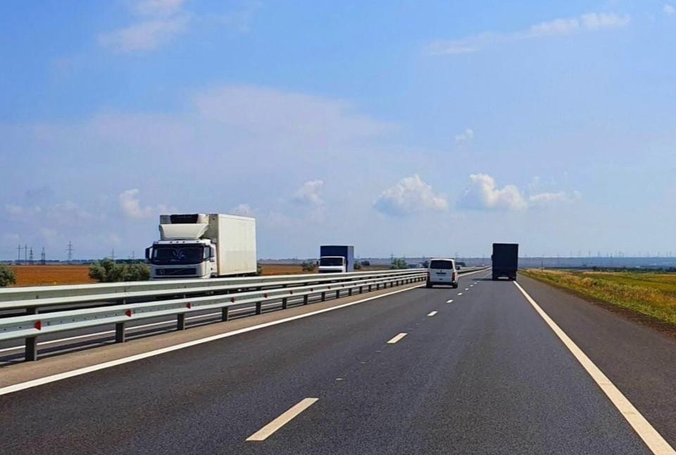 Общая протяженность дороги - 250 километров. Фото: пресс-служба АО «ВАД»