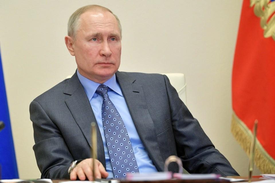 Путин надеется на мирное разрешение ситуации в Белоруссии