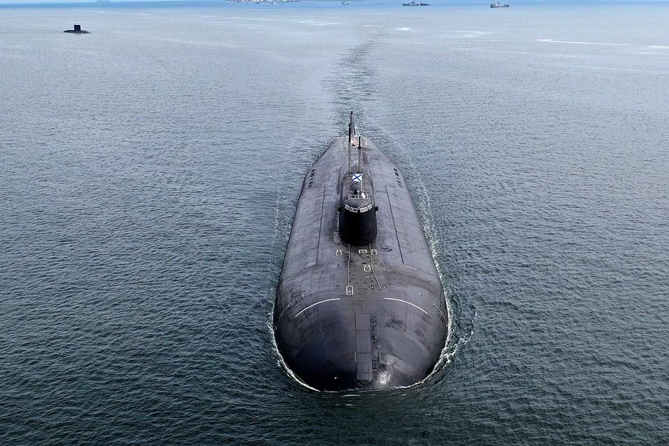 Атомный подводный крейсер «Омск». Фото: Дмитрий Ефремов/ТАСС