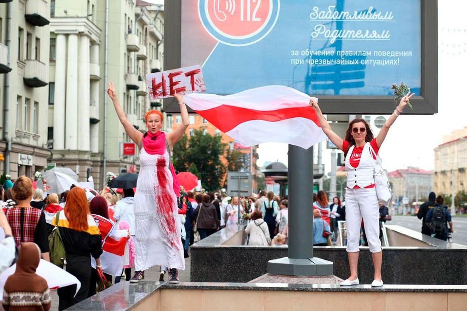 Дамский гран-парад в Минске