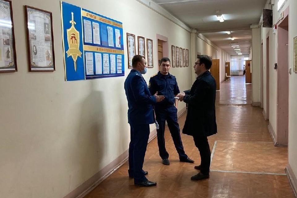 В отделе полиции сейчас работают сотрудники прокуратуры и следственного комитета. Фото: прокуратура Татарстана