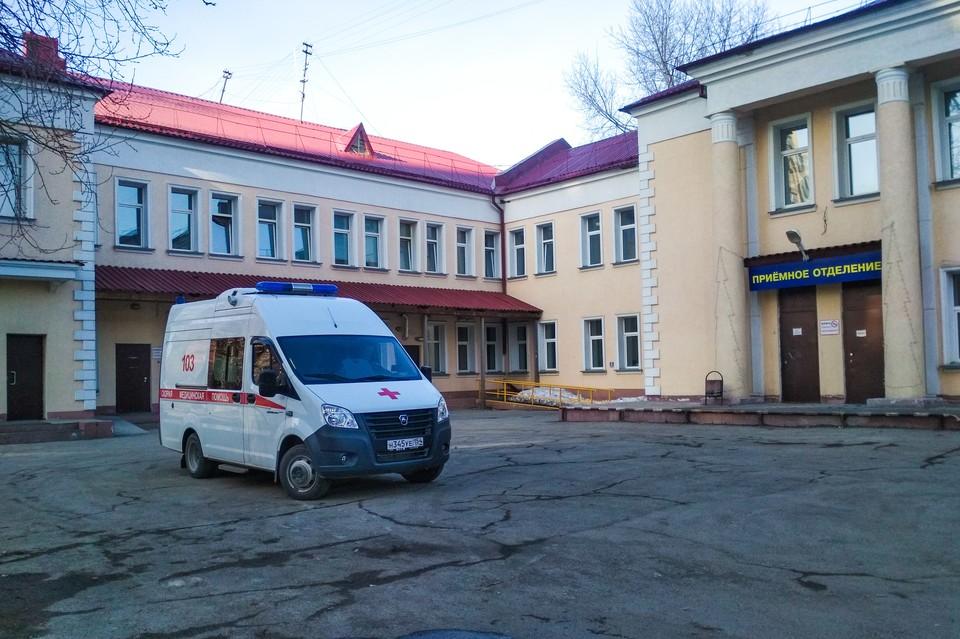 Трагедия с пациентом произошла в инфекционной больнице №1.