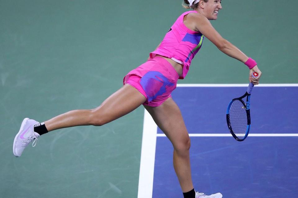 По словам Виктории, в сравнении с прошлым сезоном она играет лучше. Фото: wtatennis.com / Getty Images