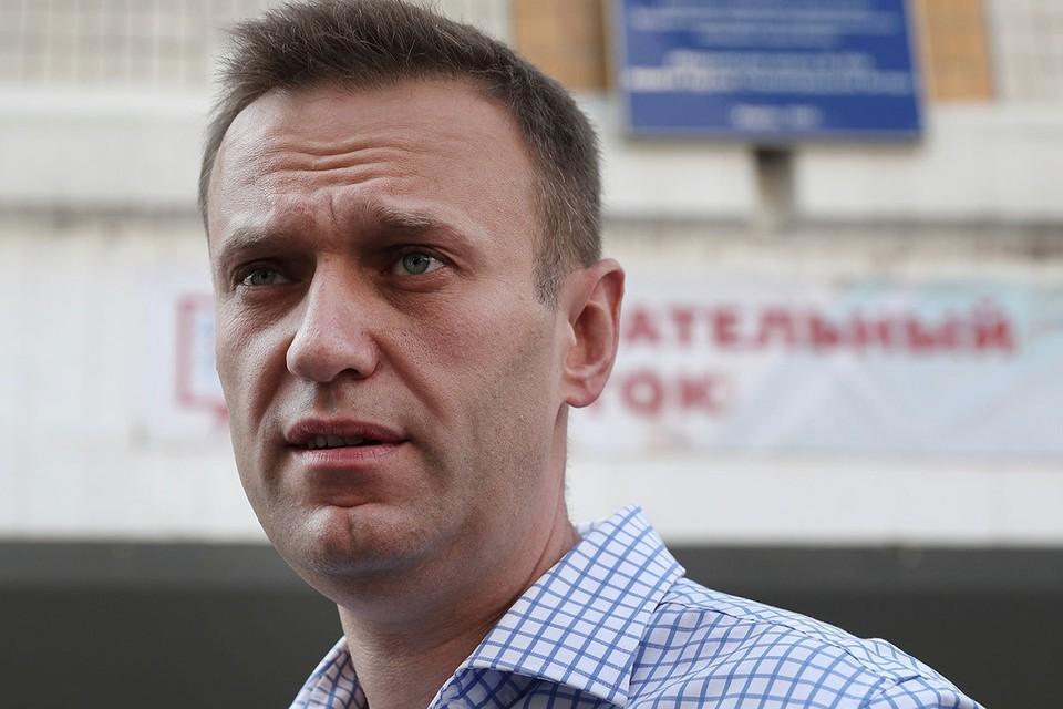 """Немецкие медики поставили Алексею Навальному диагноз """"отравление"""""""