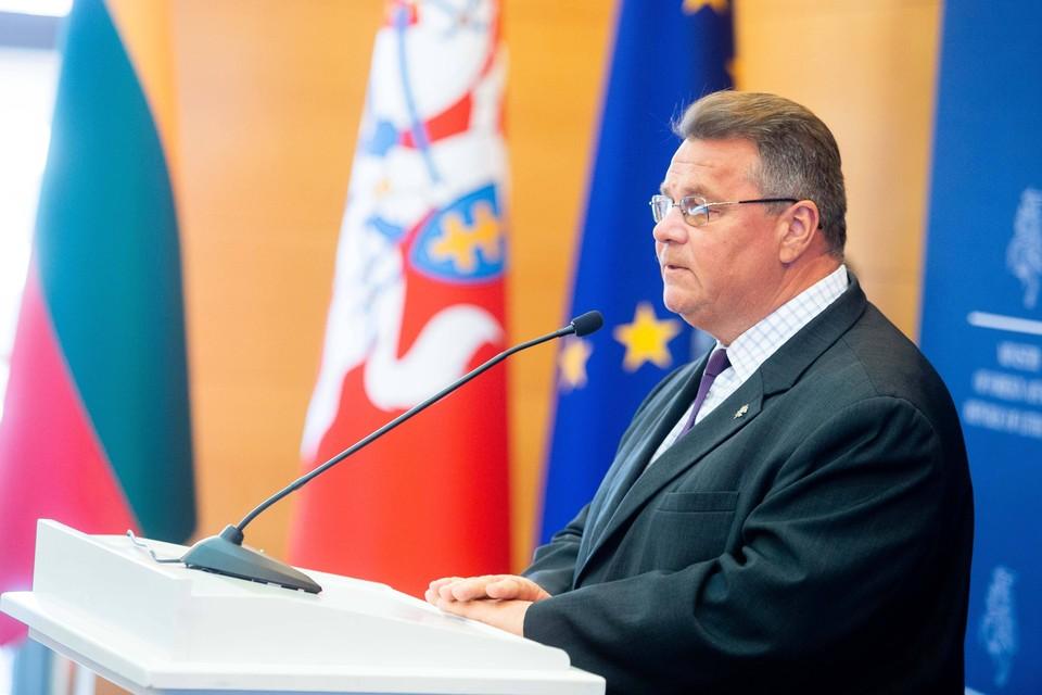 Глава МИД Литвы начал терять доверие к внешней политике Евросоюза