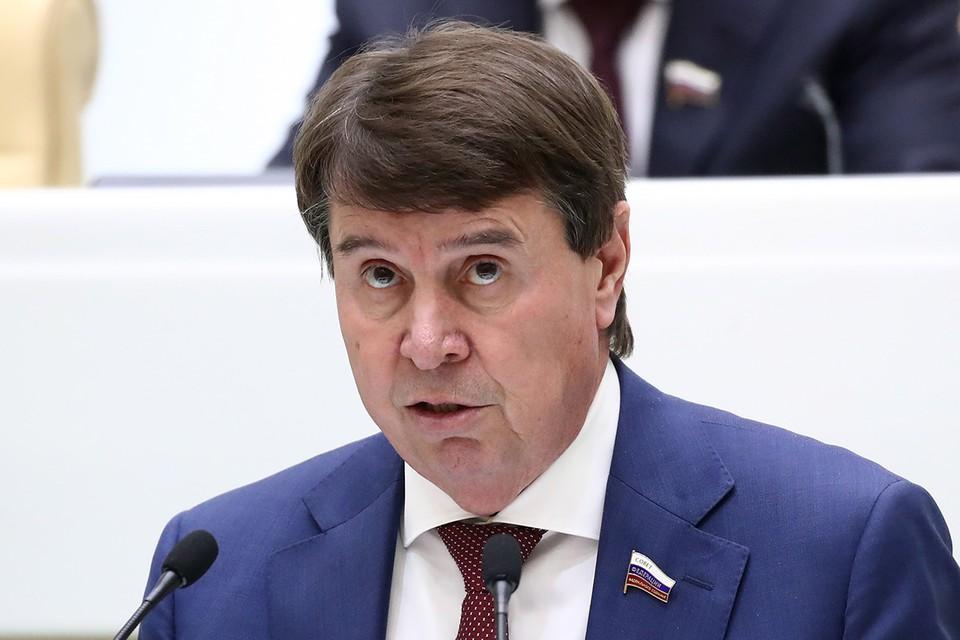 Сергей Цеков. Фото: Валерий Шарифулин/ТАСС
