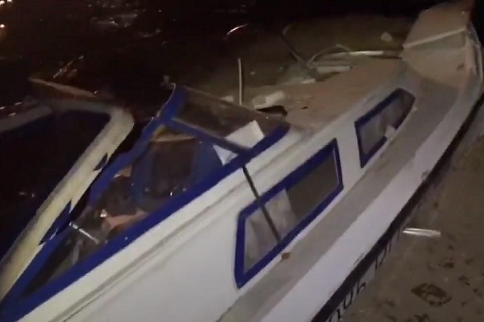 Список погибших в столкновении катера и баржи в Сургуте 9 августа 2020: появились имена жертв. Фото: скриншот с видео