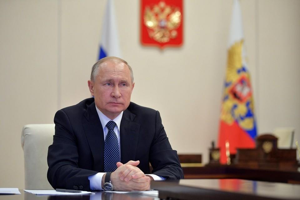 Путин: сокращение ВВП России меньше, чем в других странах