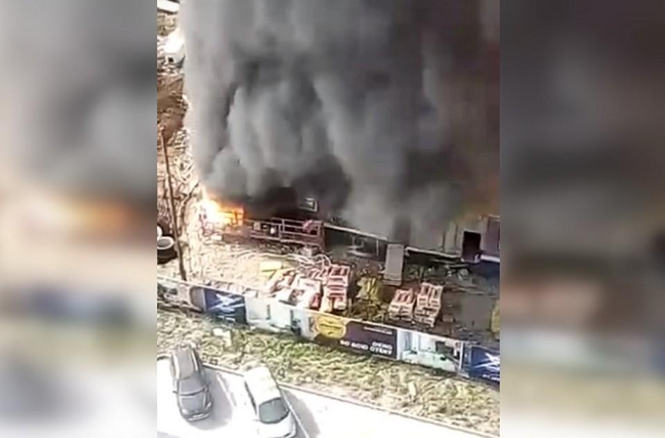 """Фото: скриншот с видео сообщества """"Инцидент Екатеринбург"""""""