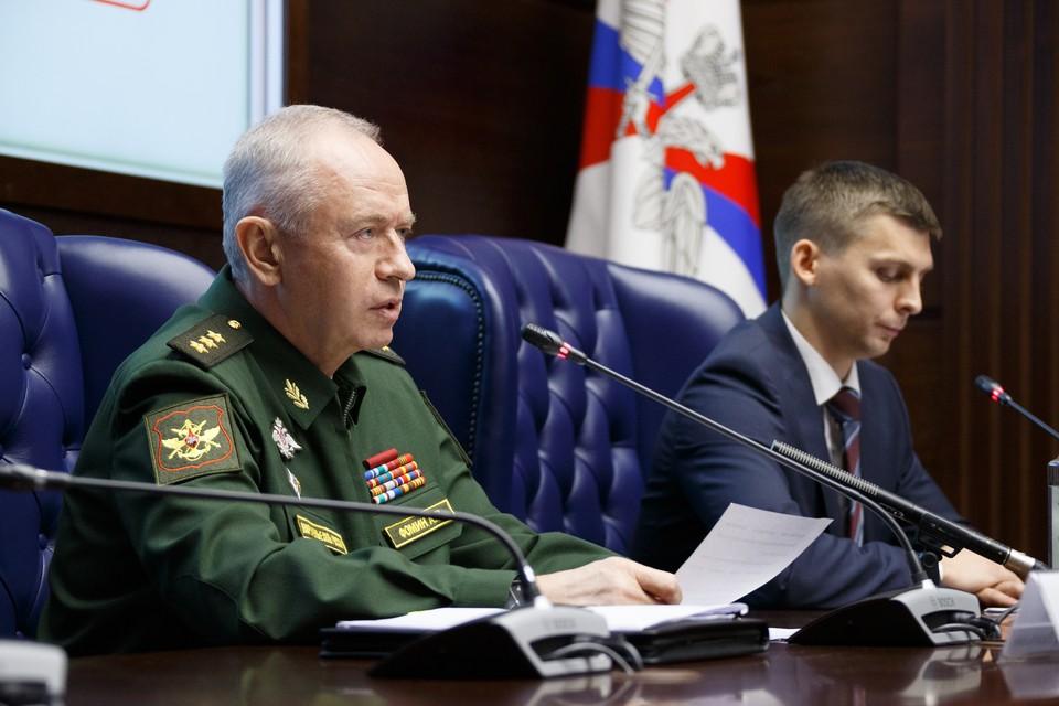Заместитель министра обороны России Александр Фомин. Фото: предоставлено Министерством обороны РФ