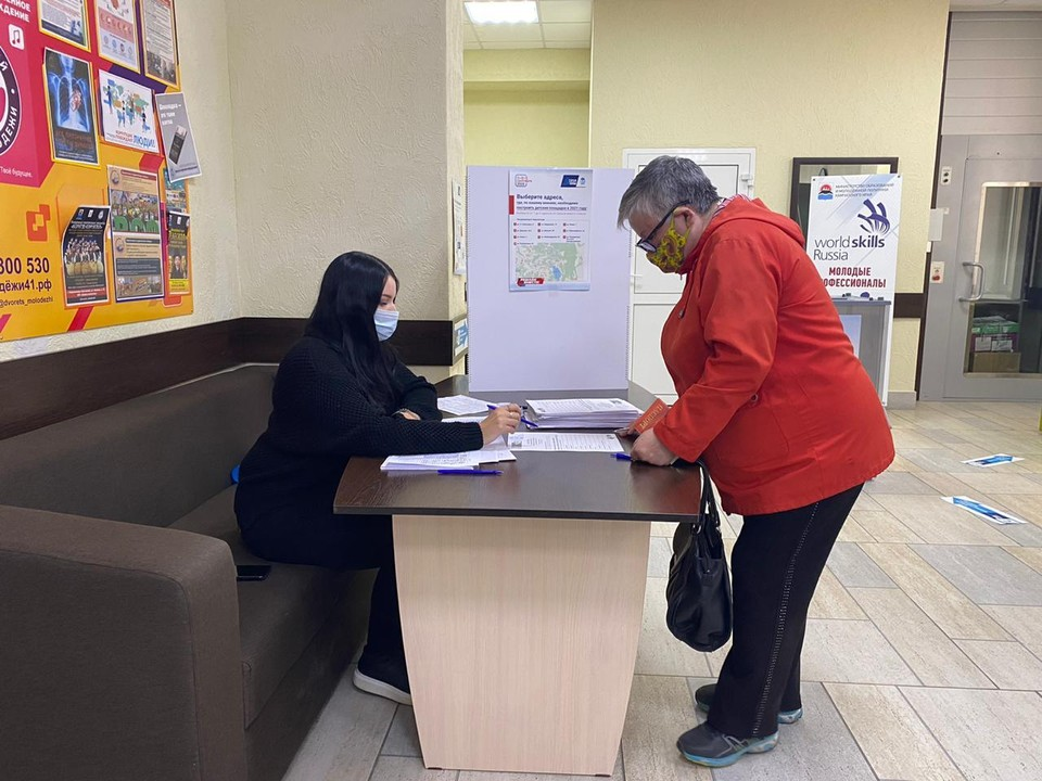 Наибольшее количество голосов набирает Владимир Солодов. Фото: пресс-служба правительства Камчатского края