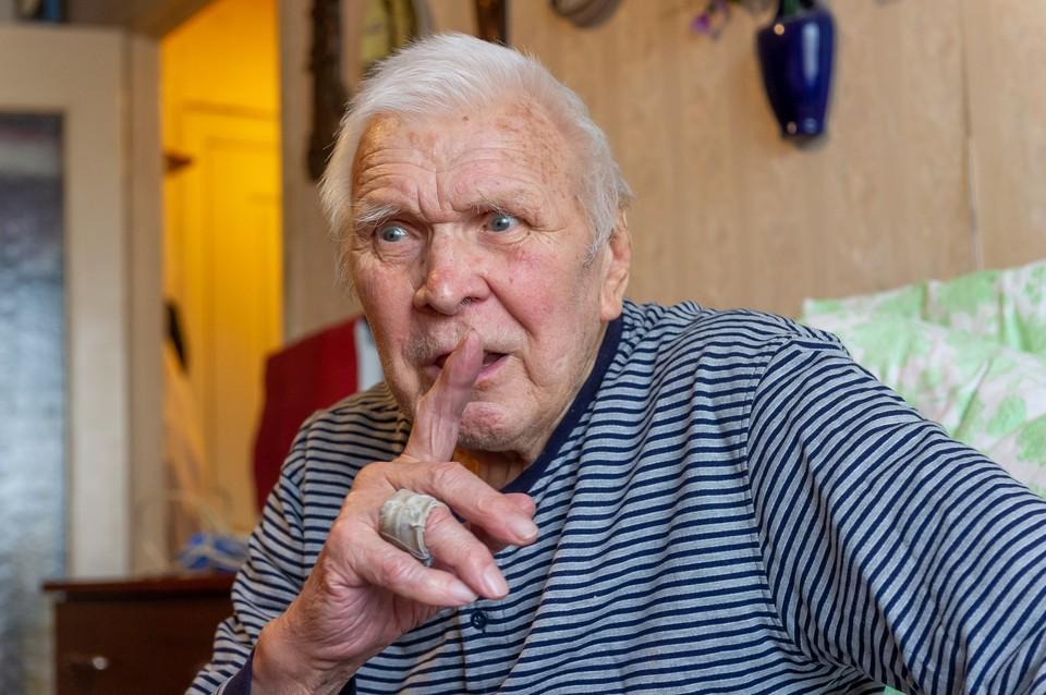 Джону Федулову 91 год, но войну он до сих пор помнит отчетливо