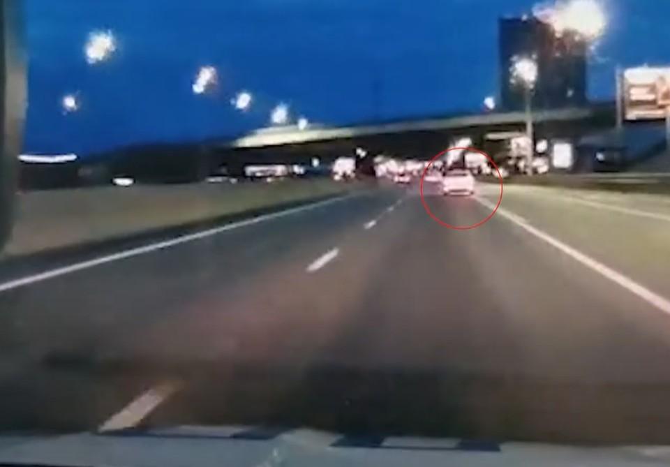 Видео погони за детьми, убегавшими от полиции на родительской машине, показал СК. Фото: кадр из видео СК России