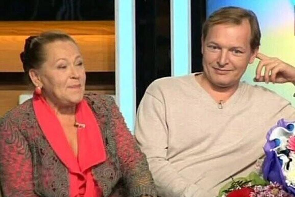 Раиса Рязанова с единственным сыном Данилой Перовым