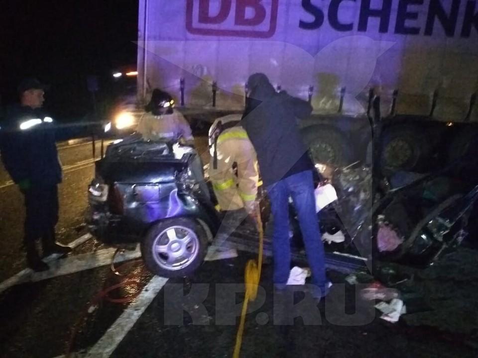 В Удмуртии шесть человек погибли в аварии