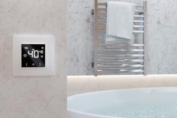 Комфорт одной кнопкой: выбираем настенный терморегулятор