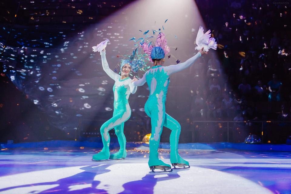 10 октября в «Космосе» стартует грандиозное ледовое шоу «Айсберг». Фото: Программа «Айсберг»