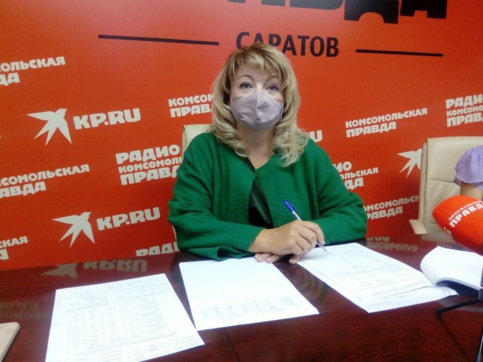 Руководитель управления по делам ЗАГС Саратовской области Юлия Пономарева