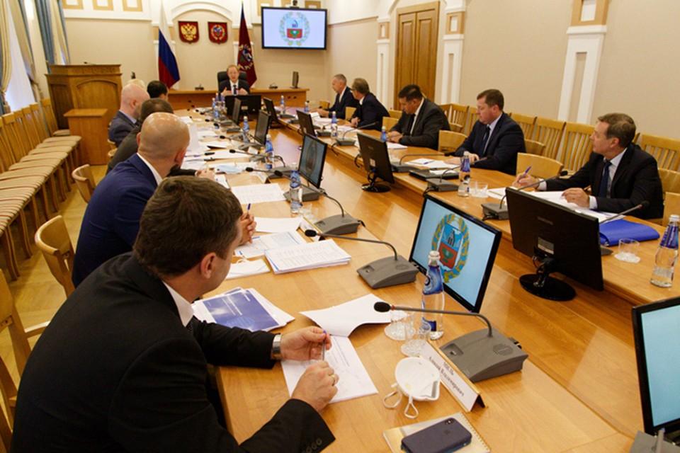 Рабочая встреча губернатора Виктора Томенко с будущими инвесторами