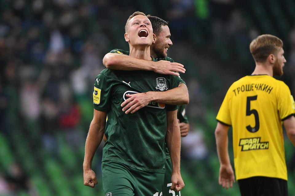 Краснодар разгромил Химки со счетом 6:2 Фото: Андрей ШРАМКО/ФК Краснодар