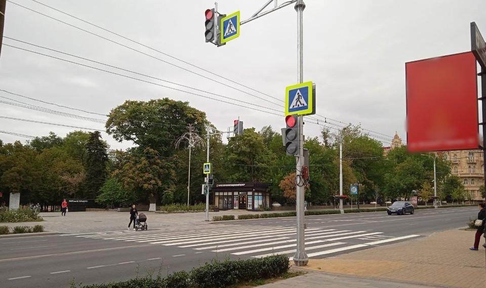 Переход вдоль переулка Собороного. Фото: соц. сети