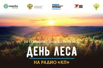 Радио «Комсомольская правда» поздравит работников леса в музыкальном радиомарафоне