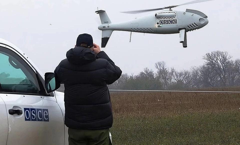 Наблюдатели ОБСЕ используют беспилотники для выявления фактов нарушения перемирия. Фото: ОБСЕ