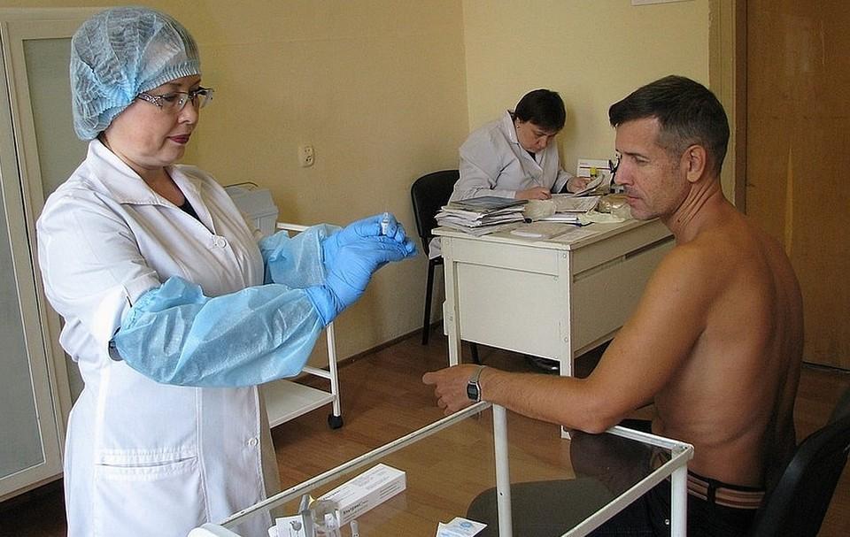 Прививки делают в медцентрах по месту жительства