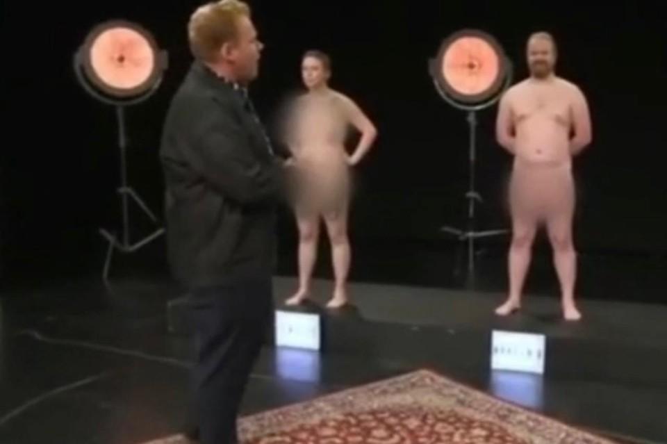 В датском шоу взрослые оголились при детях и обсудили с ними гениталии