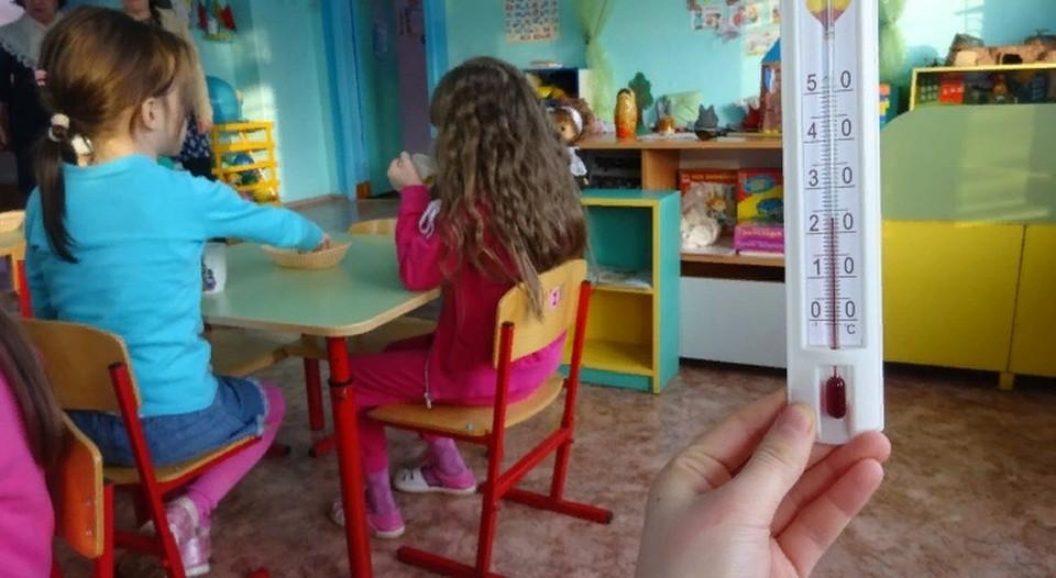 Детсад «Светлячок» замерзает из-за долгов псковской котельной