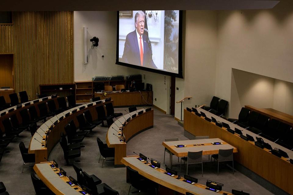 Юбилейная, 75-ая по счету, сессия Генеральной Ассамблеи ООН продолжается в Нью-Йорке. Последняя неделя сентября отведена на выступления глав государств и правительств стран-членов Организации.
