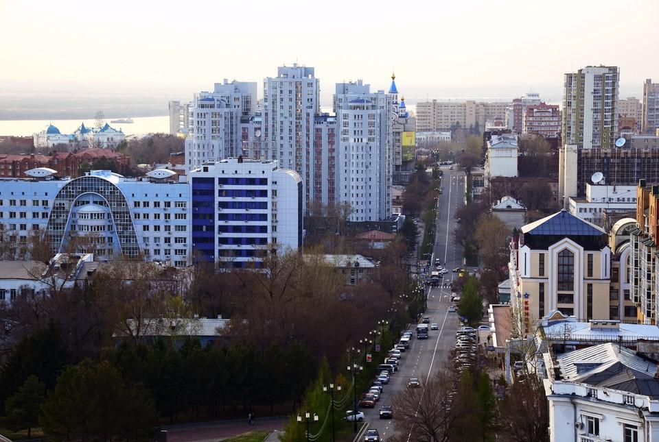 """Хабаровск. ФОТО: РИА """"Новости"""""""