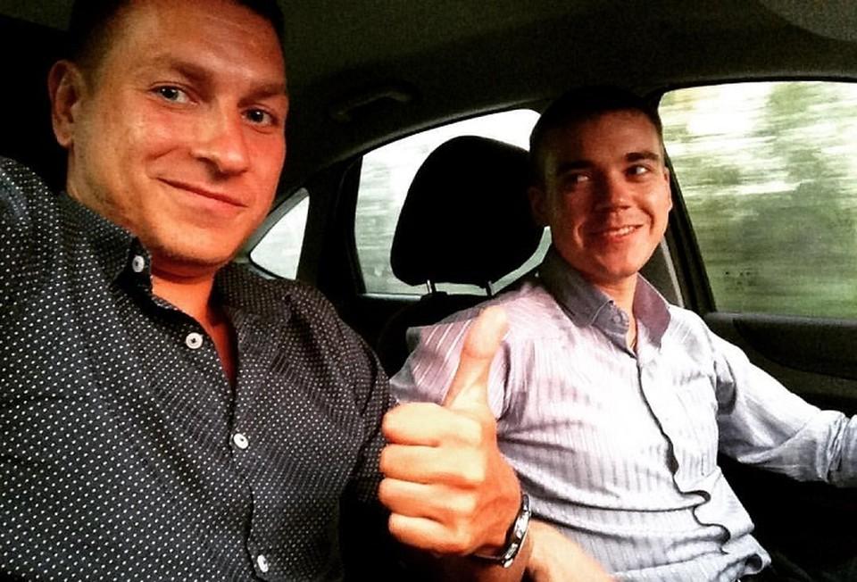 Данил Каличонок (слева) и Игорь Мещеряков были друзьями. Фото: страница Данила Каличонка в соцсети